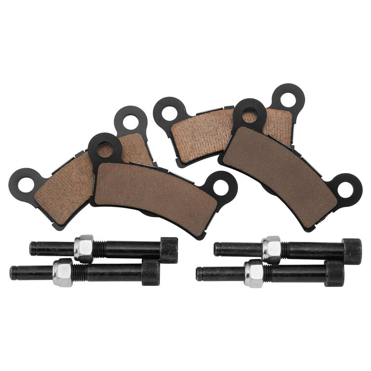 Twin Power X-Stop Sintered Rear Brake Pads For Harley Trike 2009-2013
