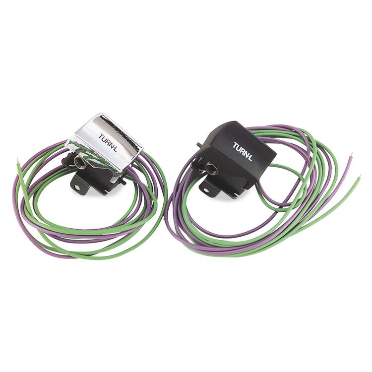 Twin Power Left Turn Signal Switch For Harley 1982-1995