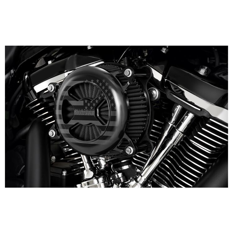 Vance & Hines VO2 America Limited Edition Air Cleaner For Harley Milwaukee-Eight 2017-2021