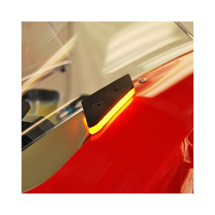 New Rage Cycles Mirror Block Off LED Turn Signals Ducati Panigale V2 2020-2021