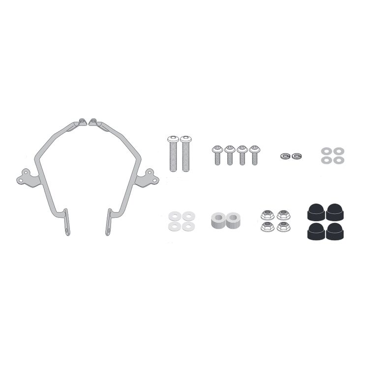 Givi AL1182A Windshield Fit Kit Honda CMX500 Rebel 2020-2021