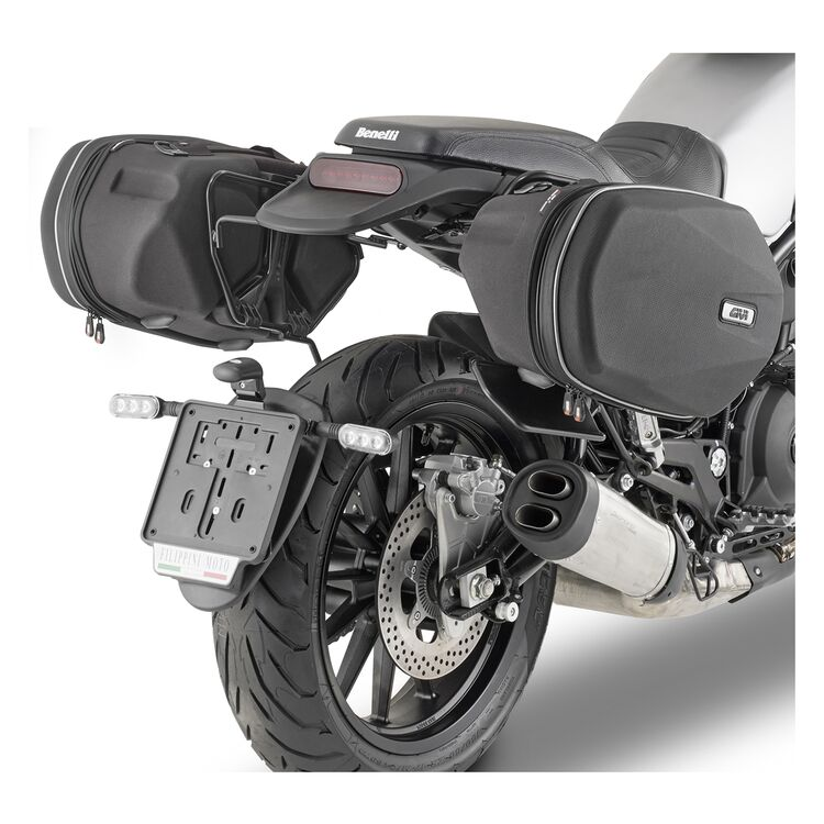 Givi TE8704 Easylock Saddlebag Supports Benelli Leoncino / Trail 2021