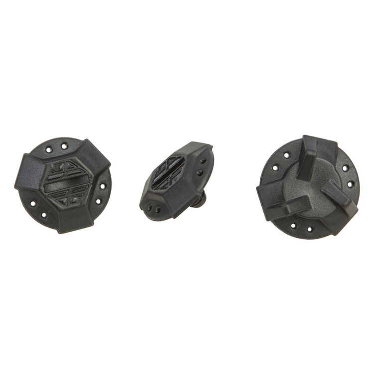 Fly Racing Kinetic Helmet Visor Screws - 3 Pack