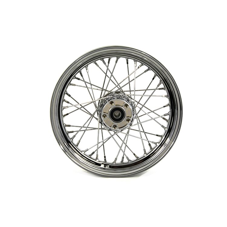 "Biker's Choice 40 Spoke 16"" X 3"" Rear Wheel For Harley Softail / Dyna 1997-1999"
