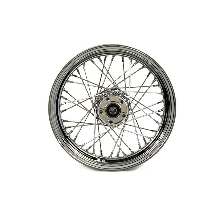 """Biker's Choice 40 Spoke 16"""" X 3"""" Rear Wheel For Sportster 2008-2021"""