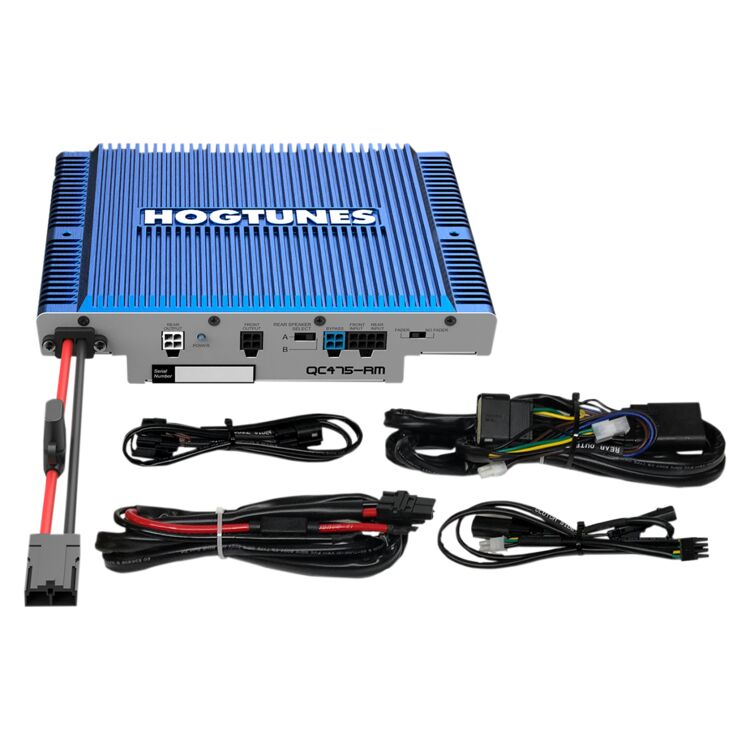 Hogtunes Quadcast 300 Watt 4 Channel Amp For Harley Touring 2014-2021