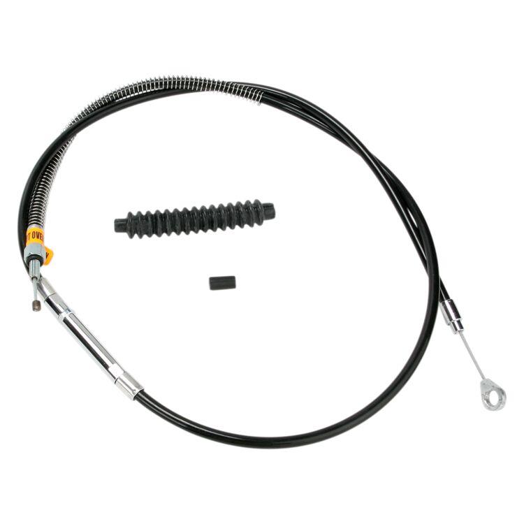 Barnett Black Vinyl Clutch Cable For Harley FXR 1987-1994