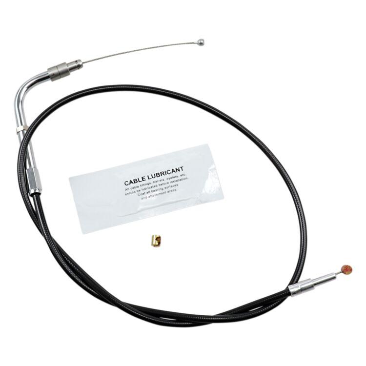Barnett Black Vinyl Throttle Cable For Harley V-Rod 2007-2011