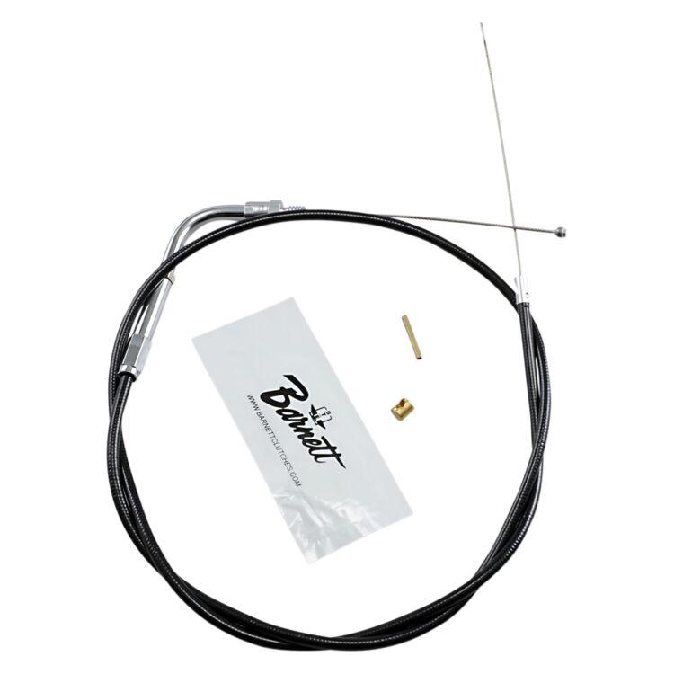 Barnett Black Vinyl Throttle Cable For Harley