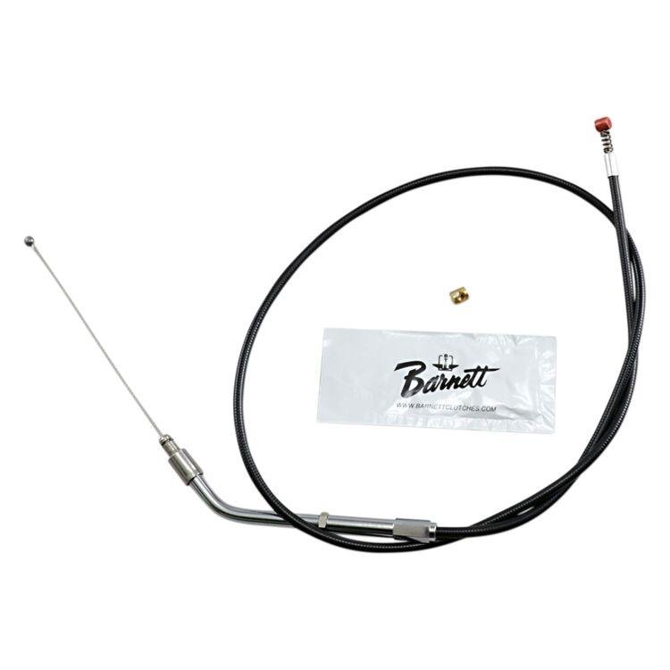 Barnett Black Vinyl Idle Cable For Harley Sportster 1996-2006