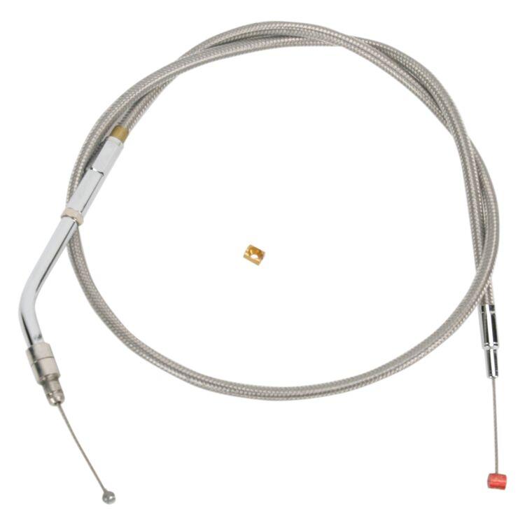 Barnett Stainless Steel Throttle Cable For Harley V-Rod 2004-2008