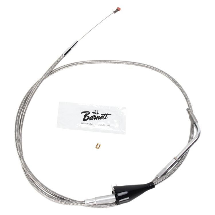 Barnett Stainless Steel Idle Cable For Harley Touring With Cruise 2007