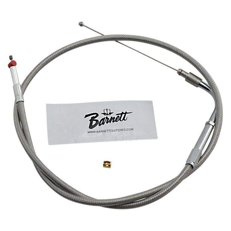 Barnett Stainless Steel Idle Cable For Harley V-Rod 2002-2017