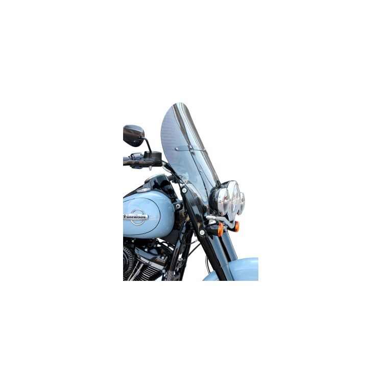 Klock Werks Billboard Flare Windshield For Harley Softail 2018-2021