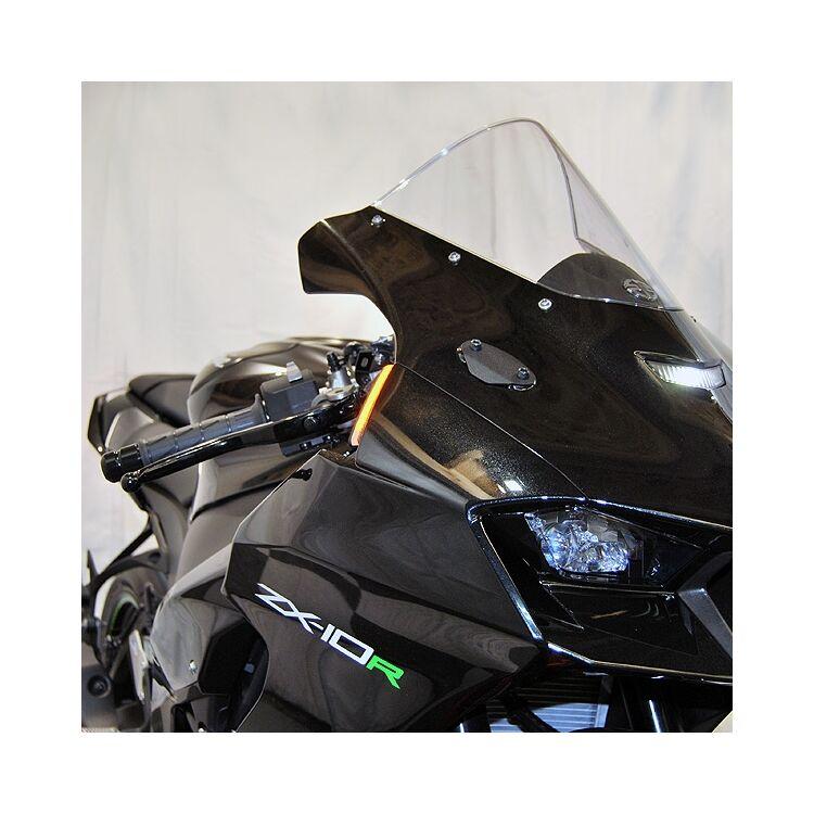 New Rage Cycles LED Front Turn Signals Kawasaki ZX-10R 2021