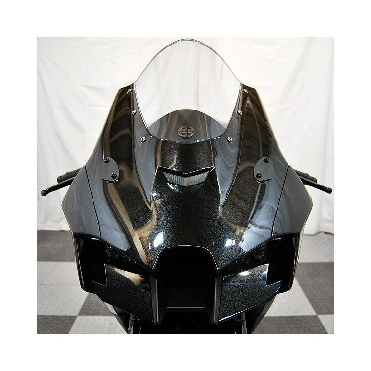 New Rage Cycles Mirror Block Off Plates Kawasaki ZX-10R 2021