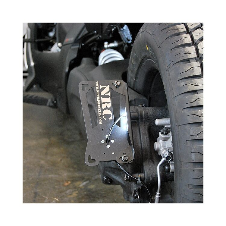 New Rage Cycles Side Mount License Plate For Can Am Ryker 2019-2021