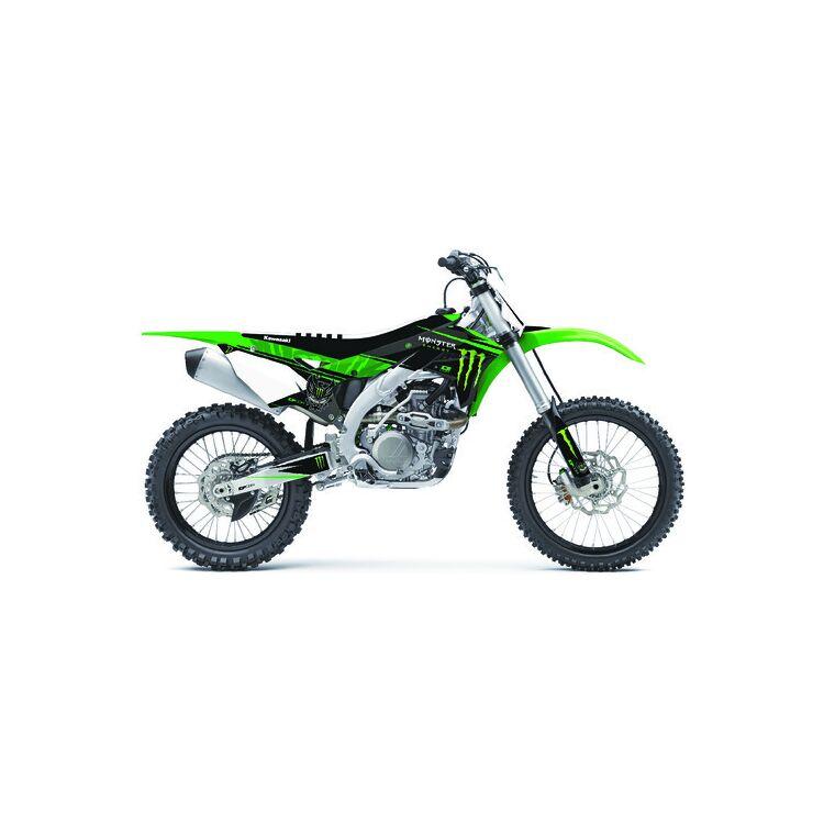 D'COR Visuals Monster Energy Graphics Kit Kawasaki KX450F 2009-2011
