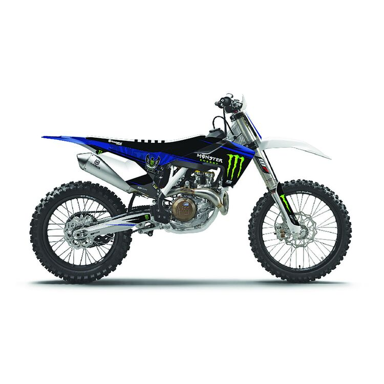 D'COR Visuals Monster Energy Graphics Kit Yamaha YZ125 / X / YZ250 / X 2015-2022