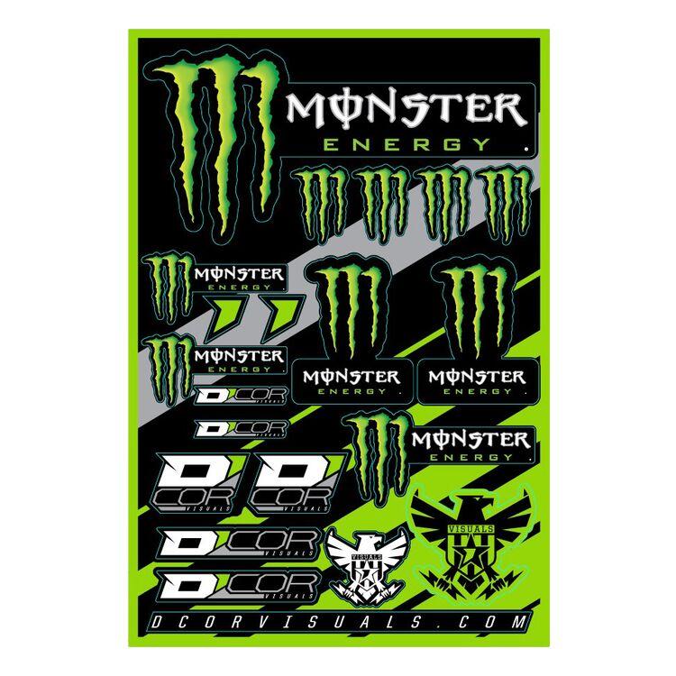 D'COR Visuals Monster Energy Decal Sheet
