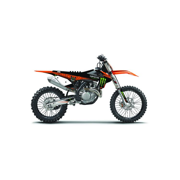 D'COR Visuals Monster Energy Graphics Kit KTM 125cc-500cc 2013-2016