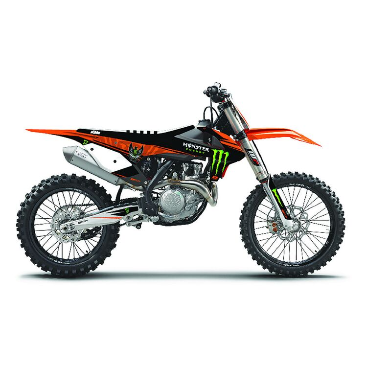 D'COR Visuals Monster Energy Graphics Kit KTM 125cc-500cc 2016-2018