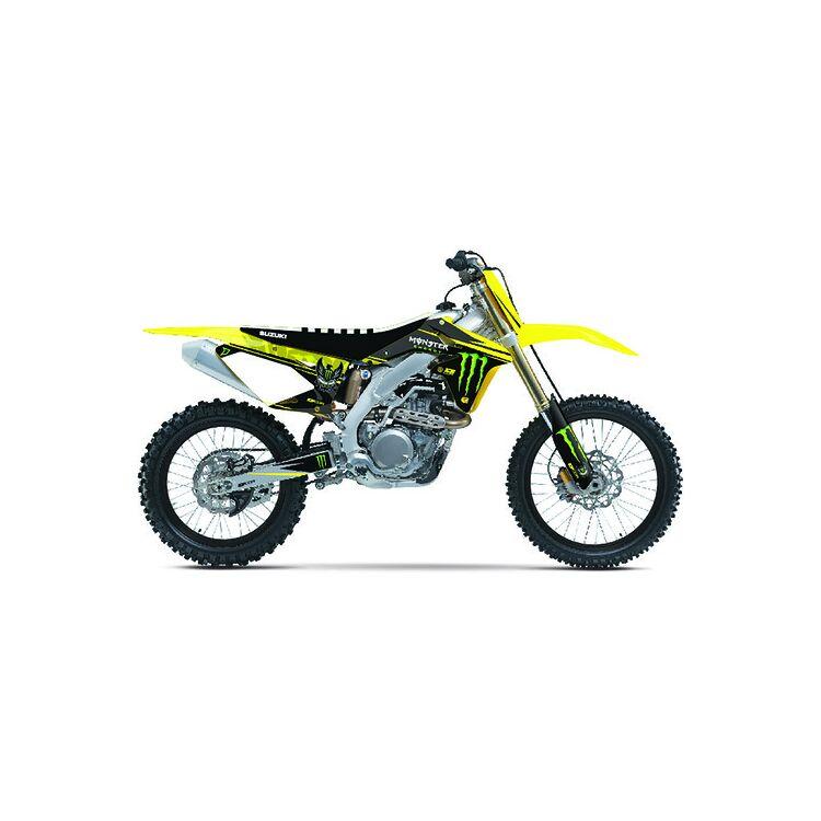 D'COR Visuals Monster Energy Graphics Kit Suzuki RMZ450 2008-2017