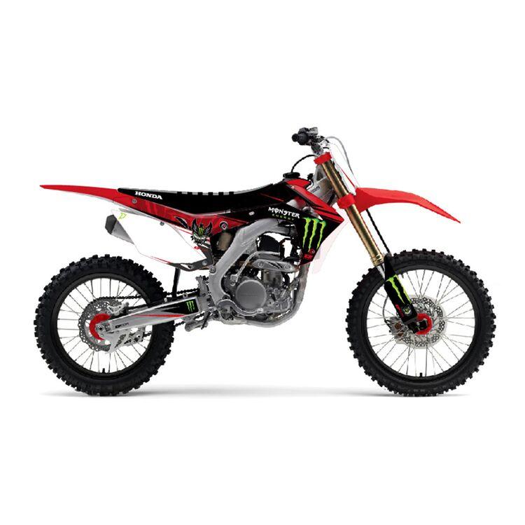 D'COR Visuals Monster Energy Graphics Kit Honda CRF250R / RX / CRF450R / CRF450RX 2021-2022